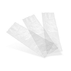 Caurspīdīgs maisiņš no kukurūzas cietes NatureFlex pārklājumu, 70 x 210 mm, iesaiņots 1000 gabali
