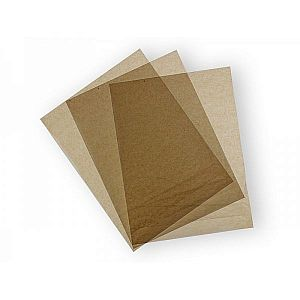 Waxed kraft deli sheets (355 x 457 mm), 1000 pcs per pack