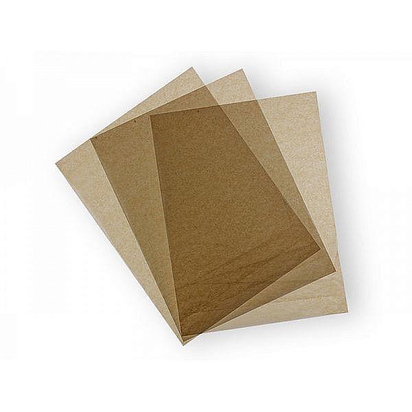 Вощёная крафт-бумага из переработанного сырья, 355 x 457 мм, в пачке 1000 шт