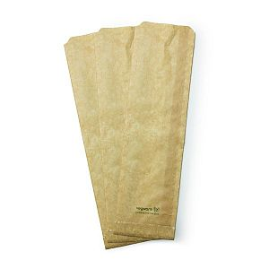 Therma paper bag, kraft paber (10 x 5 x 36 cm), 500 pcs per pack