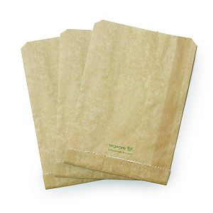 Therma paper bag, kraft paber (15 x 8 x 23 cm), 500 pcs per pack