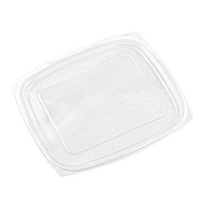 Rectangular deli lid, PLA (fits 720-960 ml deli), 75 pcs per pack