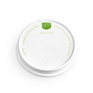 Бумажная экологичная крышка ля стаканов Vegware серии 89, в пачке 50 шт