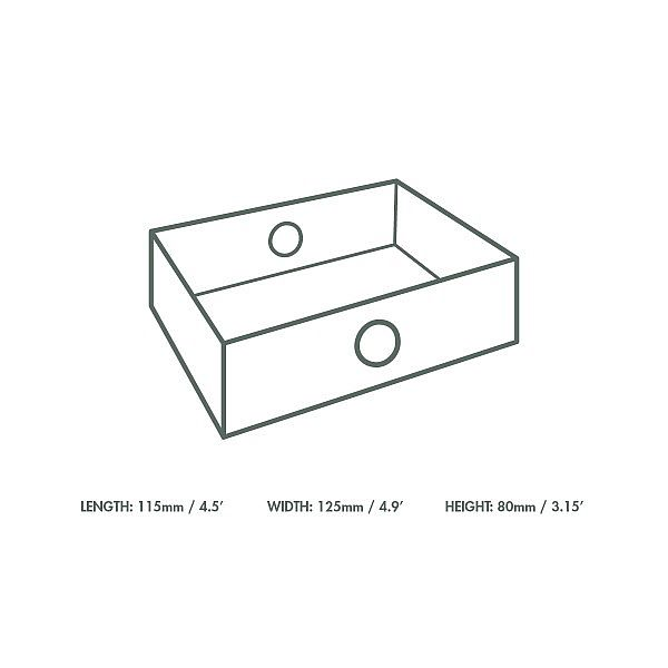Quarter insert for platter box, 50 pcs per pack