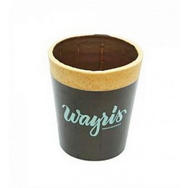 """Biskviittops kohvile """"Wayris"""" tume šokolaadiga, 200 ml, pakis 12 tk"""